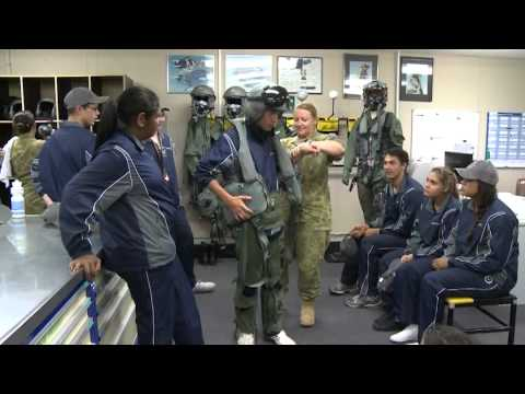 RAAF Indigenous Youth Program Visit to RAAF Base Williamtown