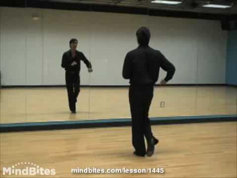 Salsa Dancing - Salsa Footwork: Kick-Ball-Change CrossOvers (on2)