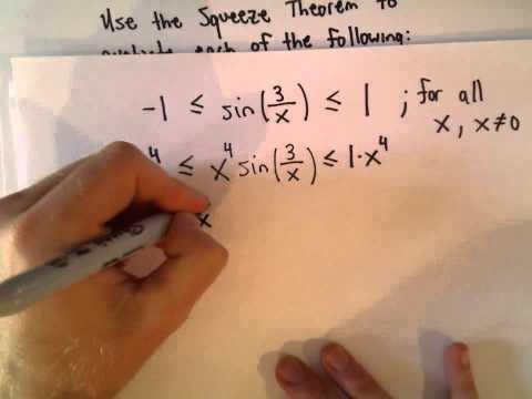 The Squeeze Theorem for Limits, Example 3