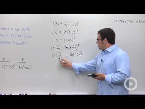 Precalculus - Exponential Growth and Decay