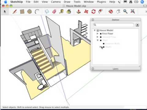 SketchUp: Putting it all together