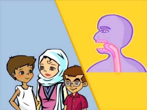 """Watch Arabic Lesson for Kids """"The Body"""" Learn Classical Arabic in a Children's Cartoon."""