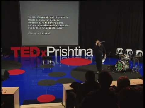 TEDxPrishtina - Sislej Xhafa - Shine and elegance of clandestine strength