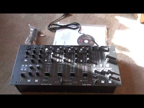 PIONEER DJM-5000 MIXER VIDEO 1