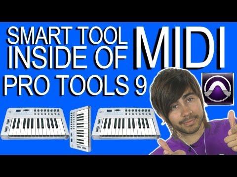Smart tool inside of MIDI - Pro Tools 9