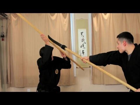 Upper Level Bojutsu Block | Bojutsu Training | Ninjutsu Weapons