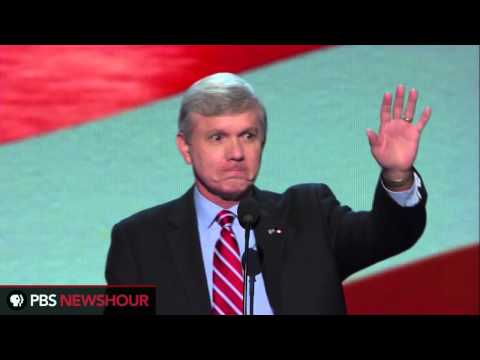 North Carolina Lt. Gov. Walter Dalton Speaks to DNC