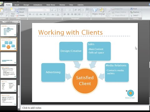 PowerPoint 2007: Using SmartArt Part 2