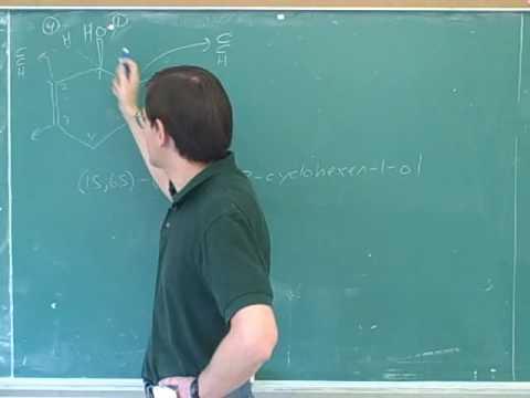 Organic chemistry: Alcohol nomenclature (3)