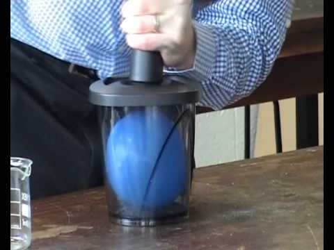 Some amazing demonstrations using an unusual pressure pump