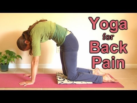 Relaxing Yoga for Back Pain. Beginners Home Workout | Mollie Psychetruth Austin