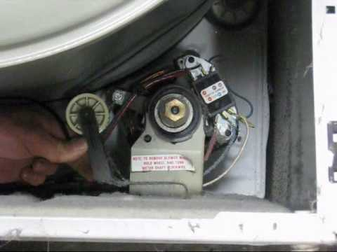 WHIRLPOOL DRYER REPAIR VIDEO 2