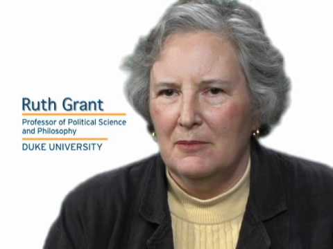 Ruth Grant says altruism is not always good
