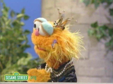 Sesame Street: Spin Doctors Of Two Princes With Zoe, Telly, And Elmo