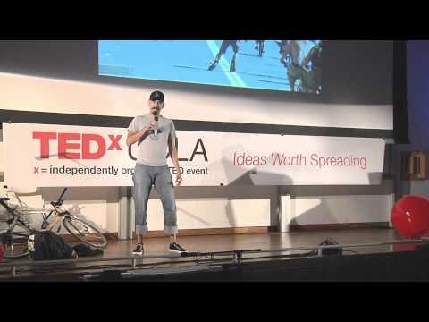 TEDxUCLA - Jimmy Lizama - My Message is Bicycle.mov
