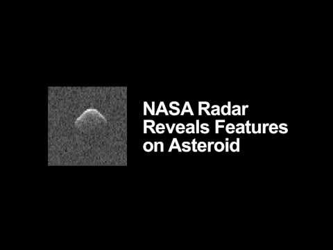 NASA Radar Reveals Features on Asteroid