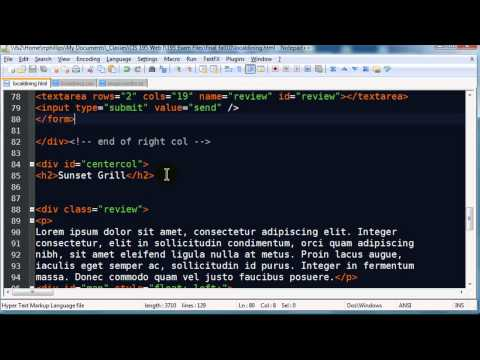 Web Development Solution Video Part 4 of 4