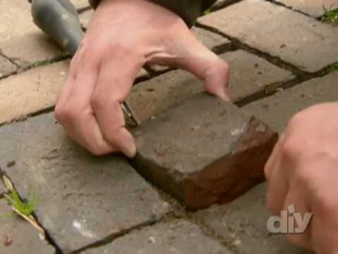 Quick and Easy Paver Repair-DIY