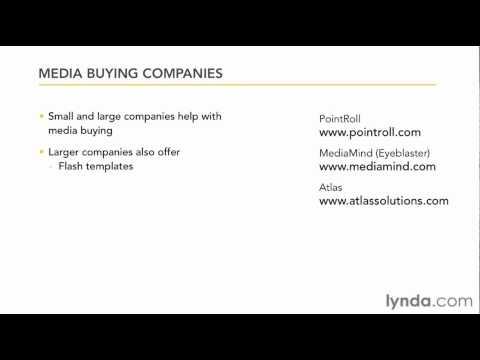 Understanding web banner ads | lynda.com overview