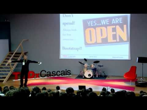 TEDxCascais - Manuel Forjaz - 15 steps to become a millionaire