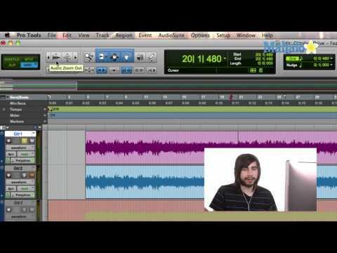 Zoom Controls - Pro Tools 9