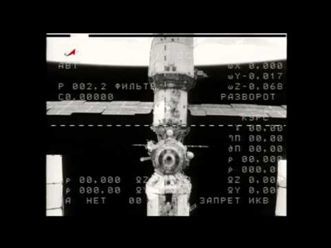 Soyuz Undocks from Space Station