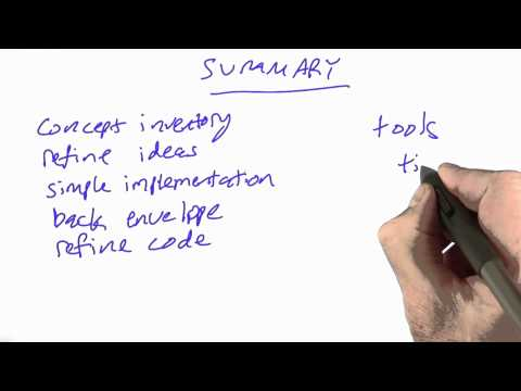 Zebra Summary - CS212 Unit 2 - Udacity