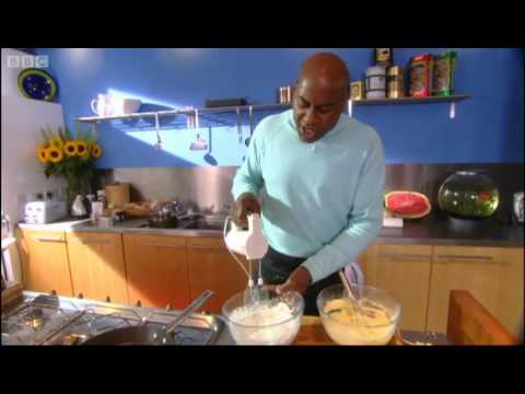 Ricotta pancakes with strawberries - Ainsley Harriott - BBC