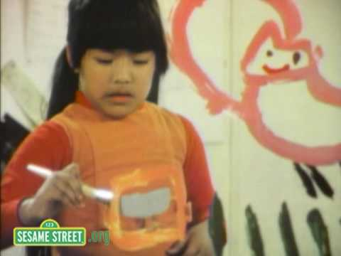 Sesame Street: P is for Painting