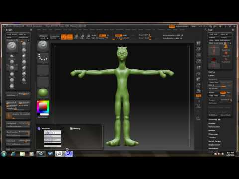 ZBrush Tutorial - Turntable and movie settings