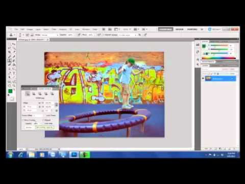 Photoshop Tutorial : How to Use the Sponge Tool, Clone Stamp Tool and Content Aware Fill