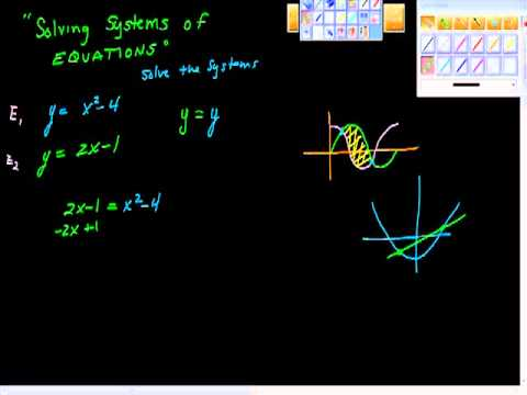 Solving Systems of Equations One