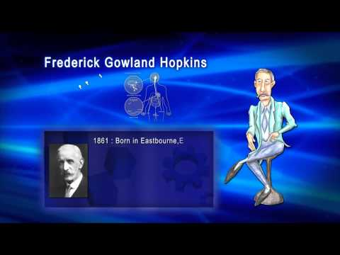 Top 100 Greatest Scientist in History For Kids(Preschool) - FREDERICK GOWLAND HOPKINS