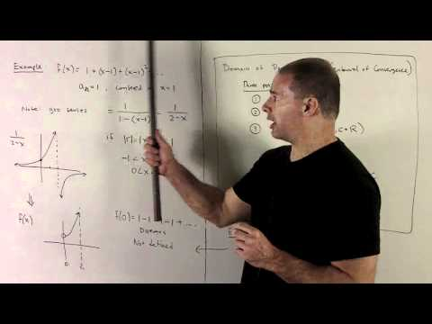 Power Series 1a - Interval and Radius of Convergence