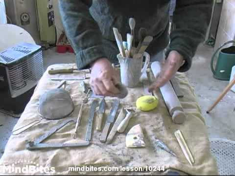 Pottery - Prt. 13 of 21 Tools & applied decoration