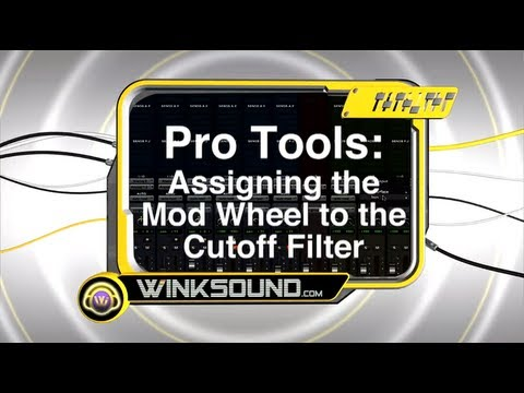 Pro Tools: Assigning the Mod Wheel to the Cutoff Filter