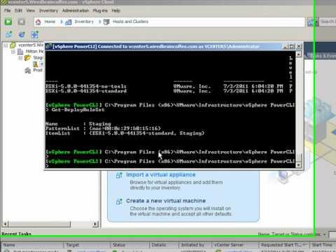 Using Auto Deploy in vSphere 5