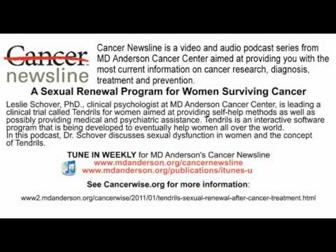 Tendrils -- A Sexual Renewal Program for Women Surviving Cancer