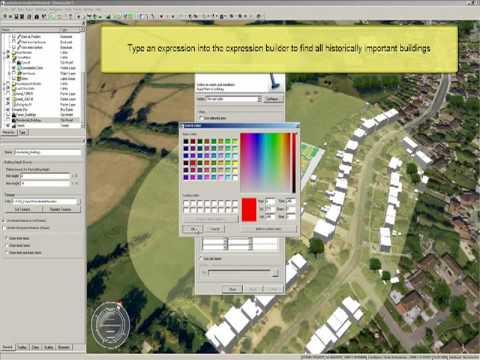Simulate and Analyze Data within a City Model using Autodesk LandXplorer Studio Professional