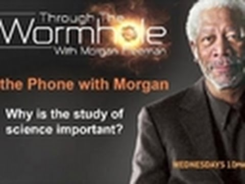 Through The Wormhole- Interview with Morgan Freeman 2
