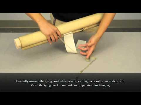 Safe Handling Practices for Japanese Hanging Scrolls