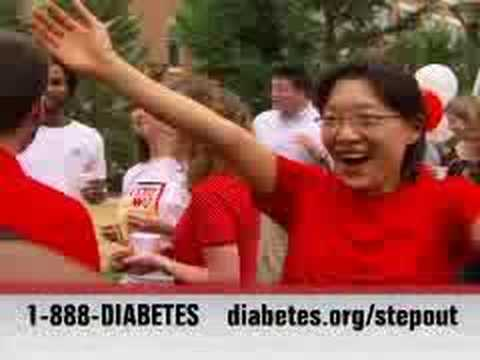 PSA: Step Out: Walk to Fight Diabetes (15 sec) - small video