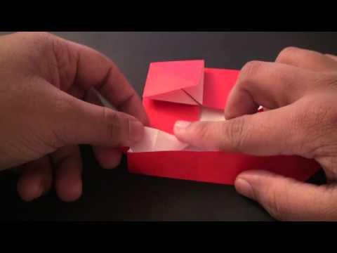 Origami Daily - 080 Santa Clause Ver. 3 (Santa in a Sleigh) - TCGames [HD]