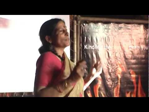 Silenced and Subdued Story of a woman of Substance : Saroj Thakur at TEDxDharamsala