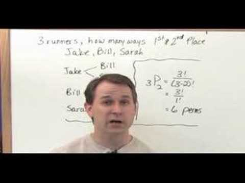 Probability & Statistics Tutor DVD - Sample1 - Combinations