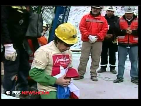 Ninth and Oldest Chilean Miner Rescued