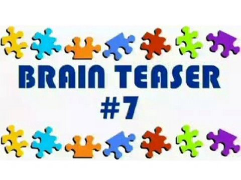 Video Brain Teaser #7
