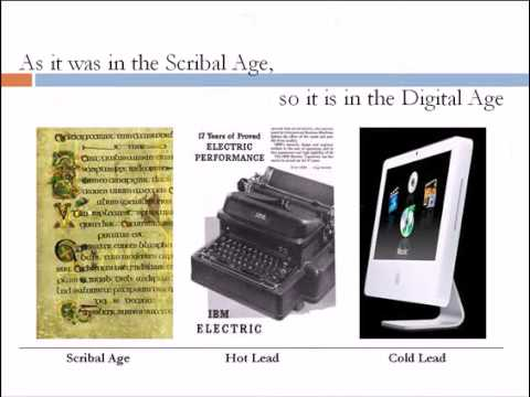 Visual Literacy: Document Design and New Literacy for the Digital Age, Part 5