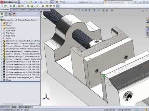 Solidworks 2011 - Editing Assemblies