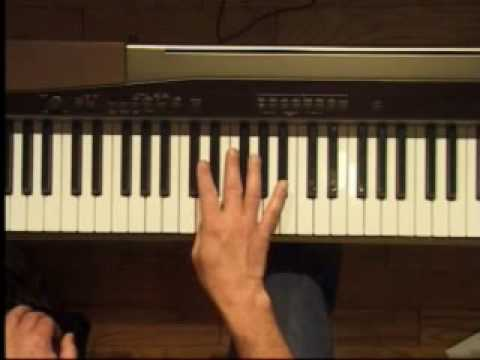 Piano Lesson - Bb Major Triad Inversions (Right Hand)